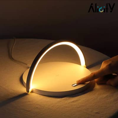 wireless charger and led lamp