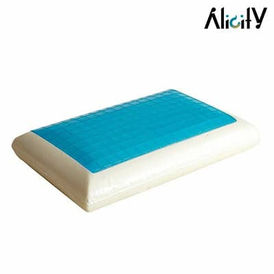 orthopedic memory foam bed pillow