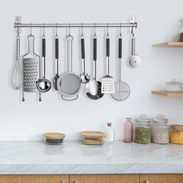 Kitchen Knife Holder with Hooks