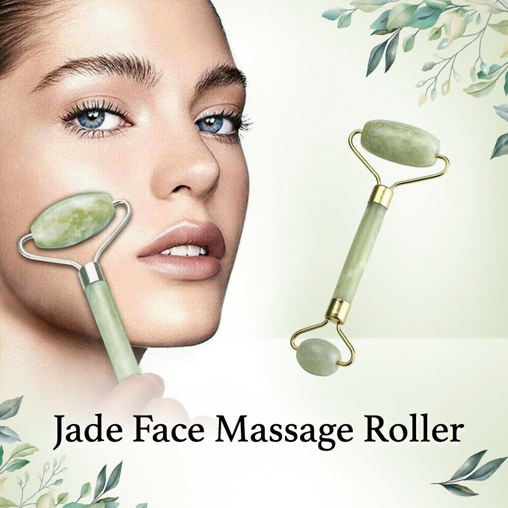 Face & Neck Massage Roller Jade Massager
