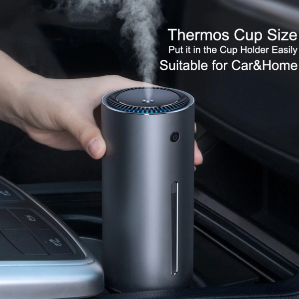 Air Humidifier Purifier Essential Aroma Oil Diffuser Usb Ultrasonic Home Car