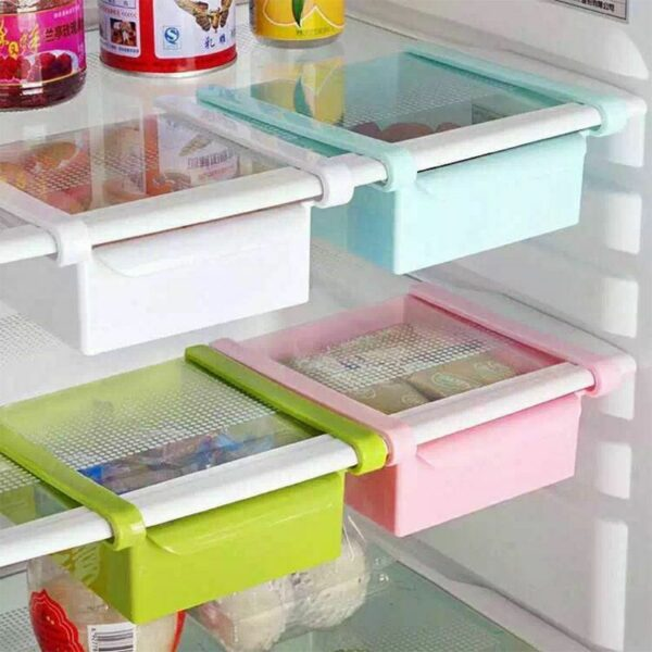 Fridge Organizer Holder Shelf & Space Saver