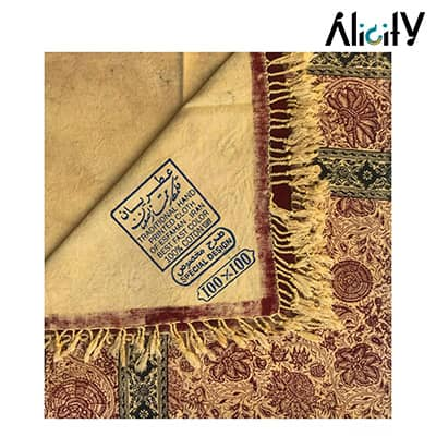 buy hand print traditional tablecloth