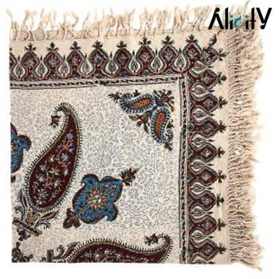 kalamkari tablecloth by atrian