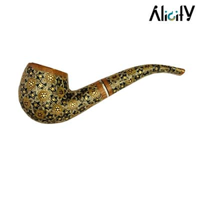 handmade inlaid pipe