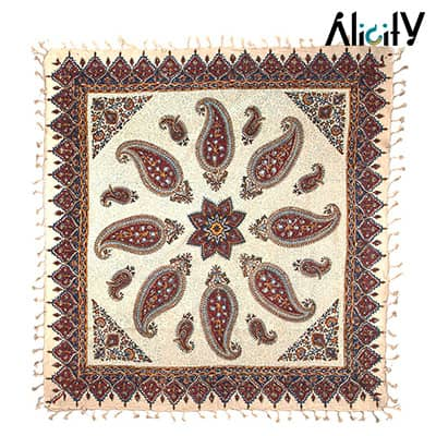 paisley calico tablecloth price