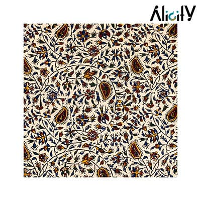 paisley pattern coverlet
