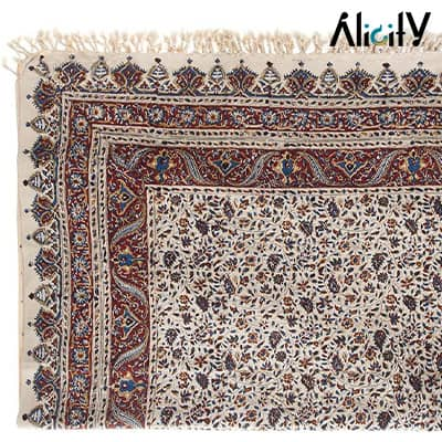 persian kalamkari tablecloth