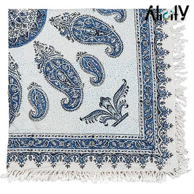 persian traditional kalamkari tablecloth
