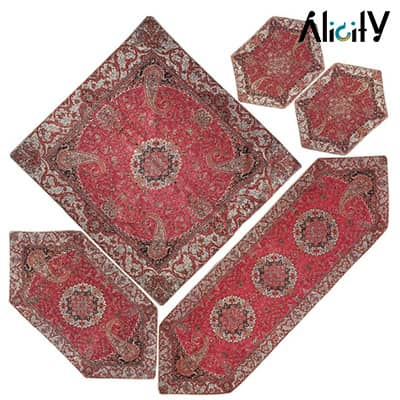 termeh tablecloth set by shokaran yazd